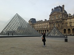 Walking round Paris