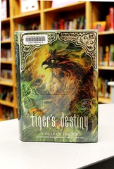 Tiger's Destiny (Vernon Barford School Library) Tags: voyage new school fiction india island reading islands book high library tiger colleen reads books read orphans fantasy cover destiny tigers junior covers bookcover middle youngadult vernon ya recent bookcovers curse andaman amnesia immortality houck hardcover whatsnew youngadultfiction nicobar curses barford aquisition aquisitions vernonbarford 9781402798436 vernonbarfordschool vernonbarfordschoollibrary vernonbarfordlibrary