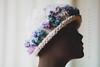 Bling Hat (Crochet Genie) Tags: white knit yarn cap bling knitted thick chunky crochetgenie crochetgeniecom