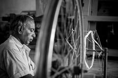 IMG_9718 (KrisgHariharan) Tags: industry hand power silk changing trend karnataka saree loom kodi yala handloom rashme powerloom kodiyala