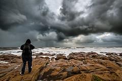 zuppi (Finasteride (Magro Massimiliano)) Tags: tramonto nuvole mare cielo fotografo onde temporale tempesta santasevera scogli d600 capannelle finasteride nikon1835 furbara nikkor1835 nikond600 pertubazione furbarasasso
