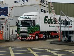 PO63PKY H6786 Eddie Stobart Scania 'Habibi Megan' (graham19492000) Tags: portsmouth eddie scania stobart habibimegan h6786 po63pky