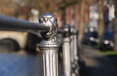 Bruges (wirsindfrei) Tags: fence nikon belgium belgique bokeh brugge lion kanal belgien d60 brgge youngphotographers nikond60 bokehlicious happyfencefriday
