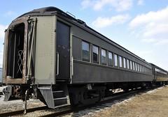 Cleveland, Ohio (Bob McGilvray Jr.) Tags: railroad train tracks clevelandohio nickelplateroad passengercar midwestrailwaypreservationsociety ctvx