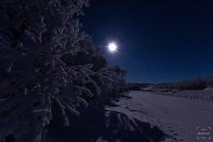 _MG_8436 (123Lars) Tags: moon cold norway canon norge foto shine north sigma lars kristian andersen finnmark kulde trr lakselv frosen porsanger mounten fjellet karasjok 60d frsse nattvann