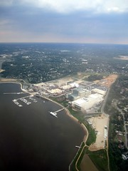 National Harbor, Maryland, from the air (Paul McClure DC) Tags: washingtondc scenery maryland potomacriver fromtheair princegeorgescounty nationalharbor may2011