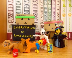 Everything is awesome !!  (Damien Saint-) Tags: toy japanese amazon von vinyl pepsi fireball yotsuba flgel danbo drossel calbee amazoncojp revoltech danboard figma