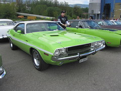 American Live, Luterbach 04.05.2014 (v8dub) Tags: auto old classic car schweiz switzerland automobile suisse muscle live meeting automotive voiture pony american dodge oldtimer oldcar challenger collector wagen luterbach pkw klassik