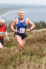 Slieve Donard Race 2014-6160 (cmcm789) Tags: county ireland sea sky irish mountain black mountains water grass stairs race forest canon newcastle landscape athletics lough dale hill may down running climbing land runners series hd northern fell mourne 2014 slieve mournes donard blackstairs slievedonard hillanddale