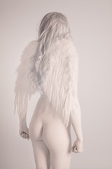soft angel (robpolder) Tags: woman studio nude model infrared