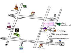 แผนที่ไทยมาสคอต