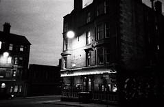 Glasgow of the Dead (22) (romain@pola620) Tags: street uk greatbritain light urban blackandwhite black building film night analog 35mm scotland town blackwhite scary lomo lca lomography tmax3200 noir nightshot noiretblanc kodak tmax decay glasgow gothic goth nightime analogue 3200 derelict gothique argentique noirblanc streetshot 3200iso pellicule écosse arkham royaumeuni nightonearth