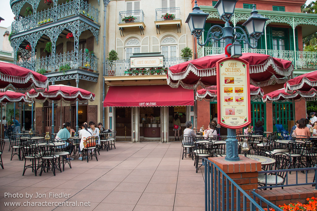 Cafe Orleans At Disney Character Central