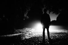 dreamers (i k o) Tags: bw silhouette fog mystery backlight night blackwhite mood sony cctv f2 filmnoir dreamers thriller manualfocusing cmount nex3 fujian35mmf17