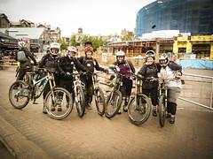 Dirt Series Camp (Stephanie Larbalestier) Tags: canada bike whistler suspension britishcolumbia downhill mountainbiking bikepark whistlervillage dirtseries fullfacehelmet fullsuspensionbikes trekdirtseriescamp
