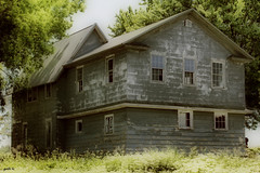 This Old House (gabi-h) Tags: summer abandoned meadow oldhouse newyorkstate forlorn gabih