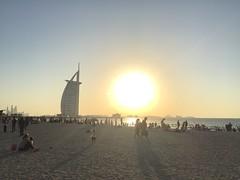 #sunset #beach #burjalarab #dubai #uae (al_bin) Tags: sunset beach burjalarab dubai uae