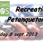 Petanque tornooi Lobos 8 sept 2013