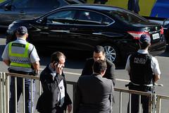 (vcheregati) Tags: cidadeconstitucional acidadeconstitucional2016 desfile foratemer 7desetembro esplanadadosministérios seguranças carro automóvel ligação chamada polícia policiais brasília feriado