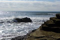 Crashing Waves (Forklift Luke) Tags: cabrillo sandiego tidepools