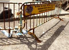 Durchgang verboten in Puerto de la Cruz; Teneriffa (209) (Chironius) Tags: spanien teneriffa puertodelacruz stahl spain  espaa tenerife