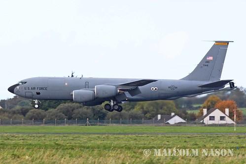 KC135R 57-1441 USAF IOWA ANG