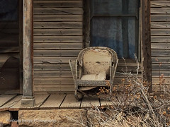 Ghost Town (Working Image Photography) Tags: ghosttown iphone frontporch abandoned