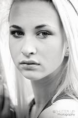 Vicki b&w (declanburkephotography.com) Tags: nikon d750 pose portrait model shoot natural light window sunlight black white stunning