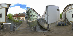(360x180) Ulm, Germany 4 (Andriy Golovnya (redscorp)) Tags: ulm badenwuerttemberg badenwurttemberg germany fishermansquarter fischerviertel historic landmark architecture building cityscape town city urban panorama equiretangular spherical photosphere 360x180 360 360panorama 360degrees virtualtour tour travel virtualreality vroutside outdors exterior