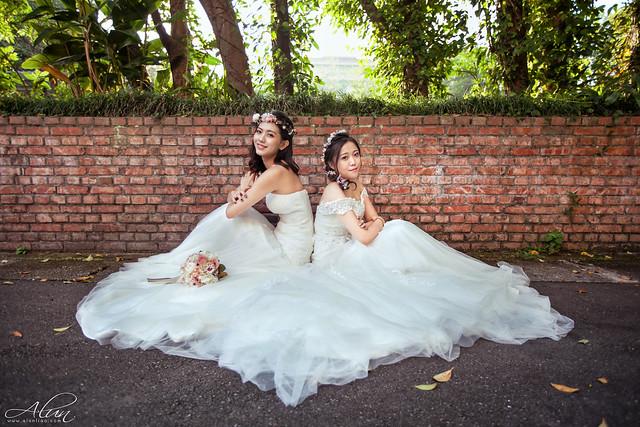 花卉中心,桃園,台北,婚紗,閨蜜