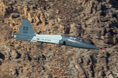 Talon in the Canyon (Nick Collins Photography, Thanks for 2.1 million v) Tags: rainbow canyon aircraft aviation flying military low level jedi transition sidewinder california usa usaf talon ed canon 7dmk2 500mm 688140 445th ftls t38c75no