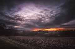 Burning Skys (lutzheidbrink) Tags: nikon sunrise germany landscape photography nature naturephotography fall autumn travel travelphotography d5000 11mm tamron