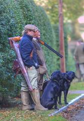 1S9A7199_Default (saundersfay) Tags: labrador black gun autumn shotgun redleaf shoot 2016