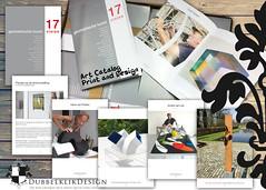 55 Art Catalog AVL (gabrielgs) Tags: graphicdesign vormgeving grafischevormgeving ontwerp design print flyers stationary logo huisstijl