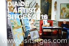 Dia de l'artista Sitges 2016 (Sitges - Visit Sitges) Tags: dia de lartista sitges 2016 visitsitges tallers pintors pintores talleres artistas escultores escultors