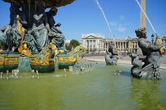 Paris Place de la Concorde Fountain 12.9.2016 3750 (orangevolvobusdriver4u) Tags: brunnen springbrunnen fountain 2016 archiv2016 france frankreich paris placedelaconcorde square platz