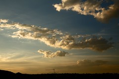 clouds at the end of the day (peet-astn) Tags: rain clouds tramonto sunset spring drought colour october