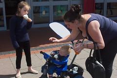 Sticky Blackpool (chipje) Tags: street woman children icecream sticky blackpool uk