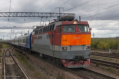 4-247 (dm35ru) Tags: russia vologdaregion railroad railway train electriclocomotive locomotive russianrailways rzd chs4t