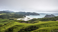 Cape Farewell (ChiiPicts) Tags: newzealand southisland capefarewell farewellspit outdoors nature landscape mountains hills coast coastline seascape