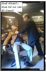 QUE TU NO VES EL CASO 82132 (VincentToletanus) Tags: actor arte cine tv teatro figuracion extra pelicula gente policia