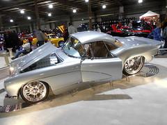 "1962 Chevy Corvette ""Illusions"" (splattergraphics) Tags: 1962 chevy corvette c1 illusions customcar carshow eastcoastindoornationals marylandstatefairgrounds timoniummd"