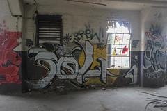 ? (NJphotograffer) Tags: graffiti graff new jersey nj newark abandoned building urban explore