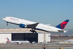 Delta Air Lines Boeing 777-200ER N865DA (jbp274) Tags: lax klax airport airplanes delta dl boeing 777