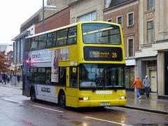 FirstNorwich 32106 - LT02ZCV (Zak (Norwich Bus Page)) Tags: dennistridentplaxtonpresident firstnorwich routefec28 yellowline lt02zcv 32106 2016