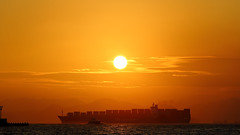 Weigh Anchor (Wilson Au | ) Tags: hongkong sunset cargoship freighter westerndistrict canon eos5dmarkiii ef70200mmf4lisusm