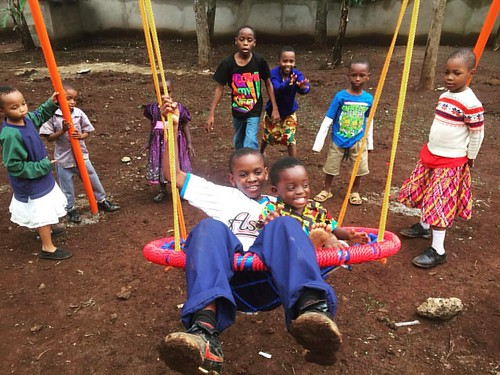 "Our sweet kids are loving life on their new playground!!!  #tuleeniorphans #bigsandlittles #brothersandsisters #happydays #familyplaytime #smilesformiles 💖 • <a style=""font-size:0.8em;"" href=""http://www.flickr.com/photos/59879797@N06/30759558992/"" target=""_blank"">View on Flickr</a>"