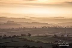 The Rolling Hills of Devon (macdad1948) Tags: devon raddonhill landscape sunset crediton goldenhour hills haze
