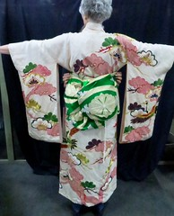 WOMENSWEAR:  Osaka kimono -- gift to SF Mayor Christopher 1960s.