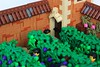 Plentiful Harvest (jsnyder002) Tags: lego medieval vineyard grape tower wall roof tile design technique cutaway